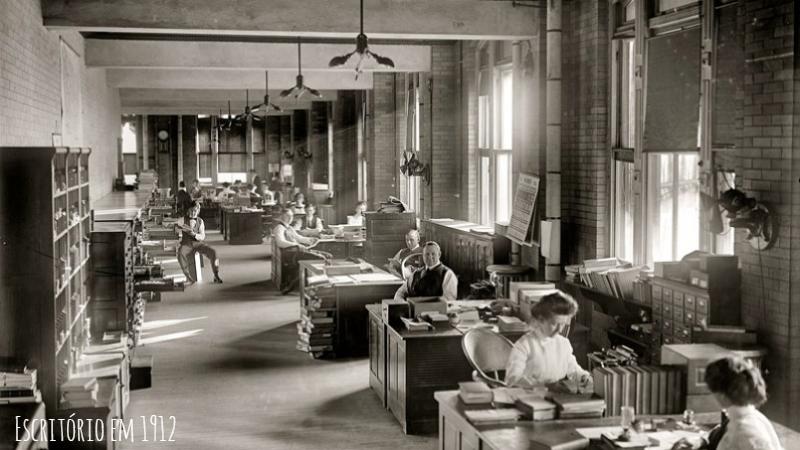 Liderança na Empresa em 1912
