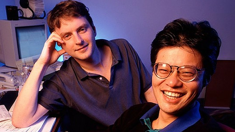 Jerry Yang e David Filo, Co-Fundadores do Yahoo