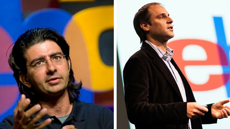 Pierre Omidyar e o Co-Fundador do eBay, Jeffrey Skoll