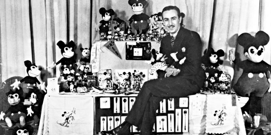 Walt Disney - Possua Uma Identidade de Marca Bem Estabelecida