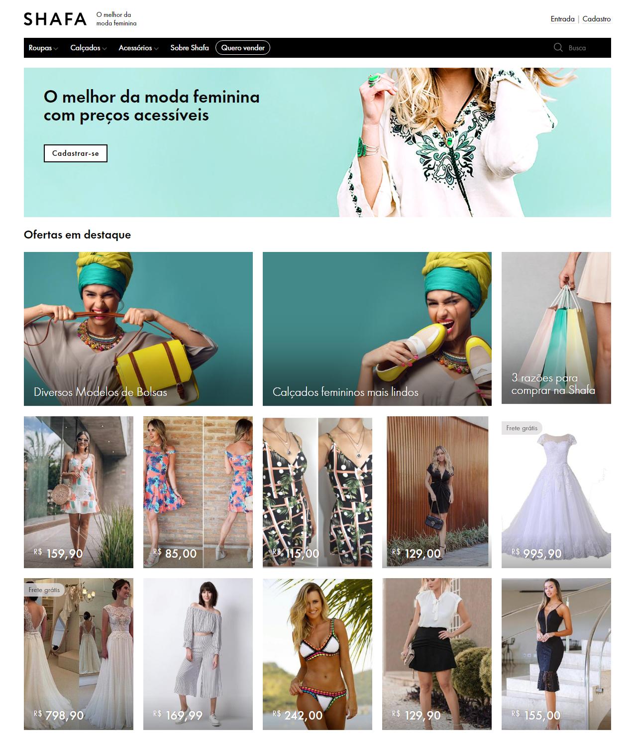 Home Page Shafa