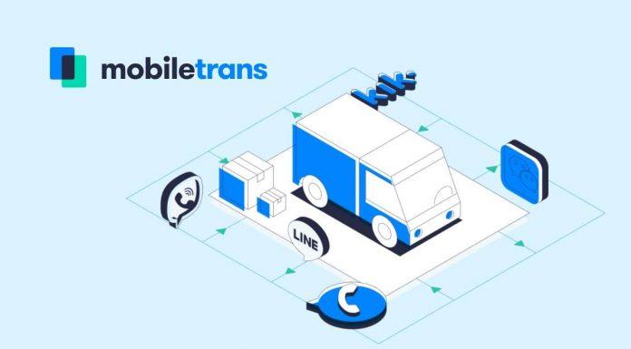 WhatsApp com MobileTrans